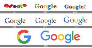 google-logo-historie