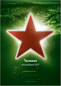 Heineken jaarverslag 2017 omslag
