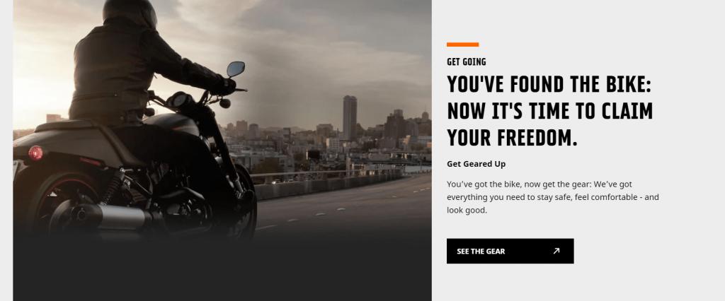Harley-Davidson, dé klassieke Outlaw op zoek naar vrijheid.