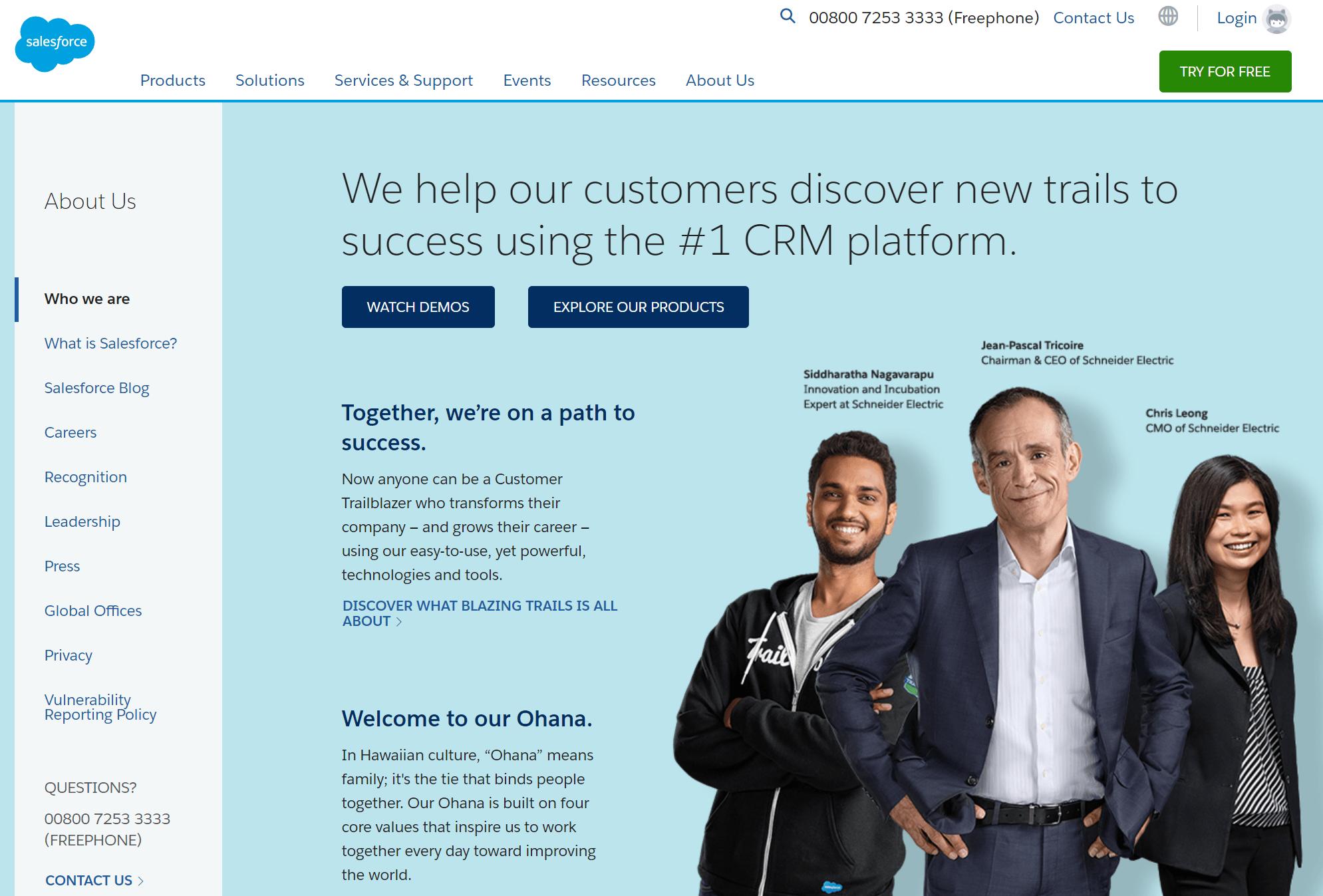 salesforce merk archetype explorer zakelijke dienstverlening