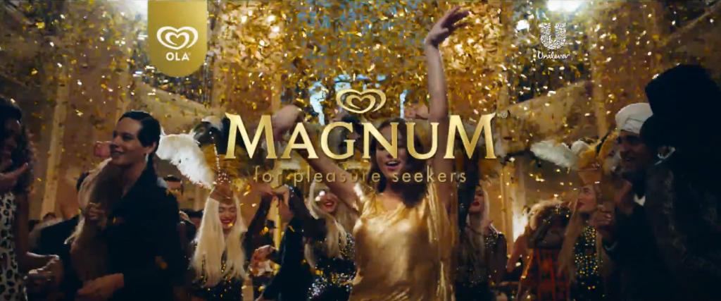 Magnum, campagne van een lover merk archetype